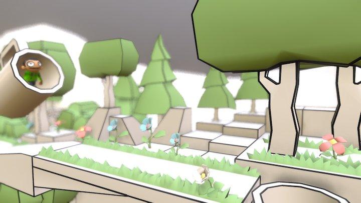 o_Ossel Game 3D Model