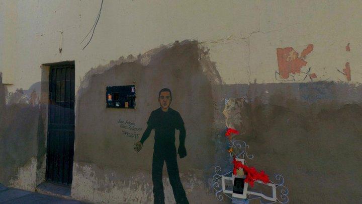 Virtual U.S./Mexico Border, Nogales 11, 2020 3D Model
