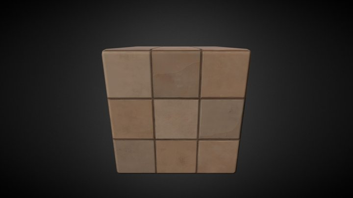 ceramic_tiles_stylized 3D Model