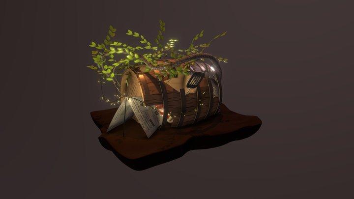 Remy's Tiny Cabin 3D Model