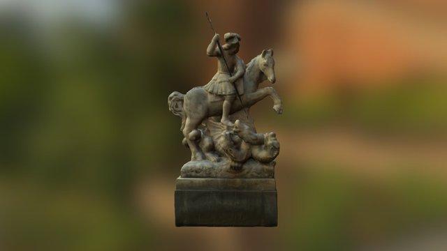 Fontána sv. Juraja (St. George Fountain) 3D Model