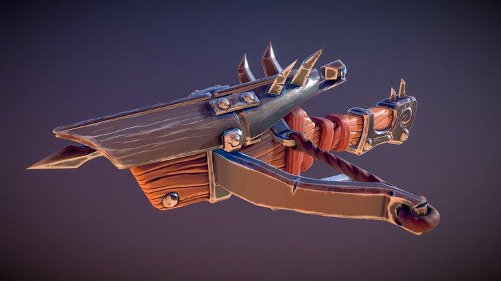Crossbow - Warcraft Prop 3D Model