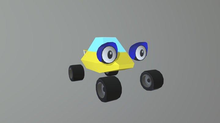 Coupe 3D Model