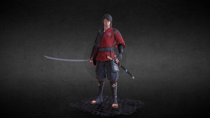 Samurai - Artstation Feudal Japan Challenge 3D Model