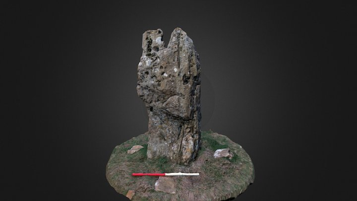 Hawk Stone 3D Model