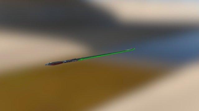 Sci-fi Katana 3D Model