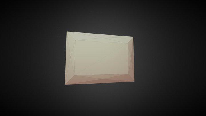 Simple Diamond 3D Model