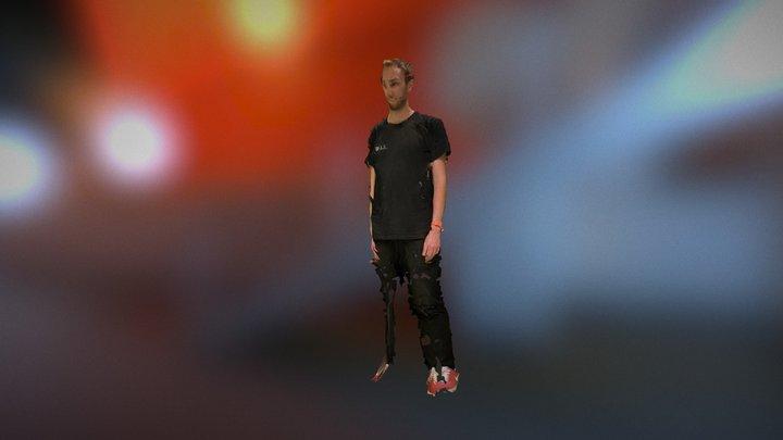 Chris Mobile Volumetric Video Test 3D Model