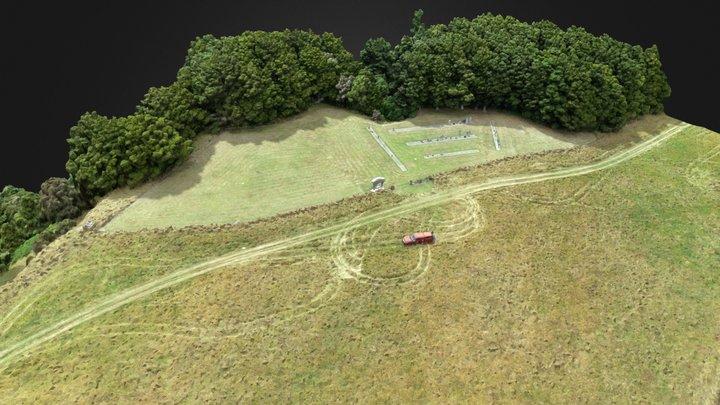 20200117 Matamau Cemetery - 17 Jan 2020 3D Model