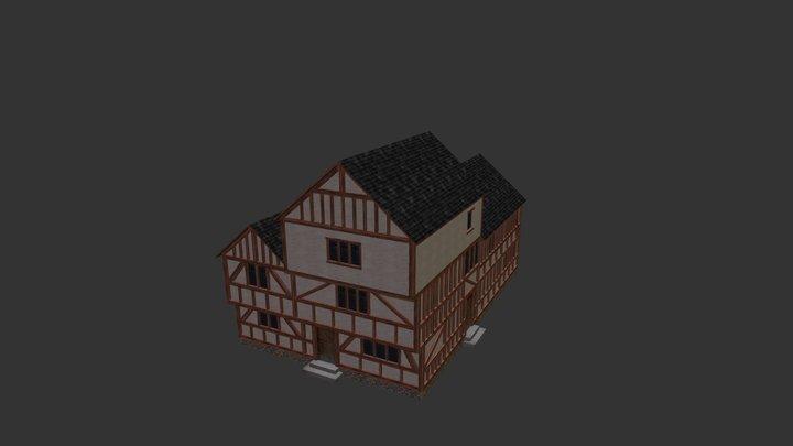 Medieval Building 03 3D Model