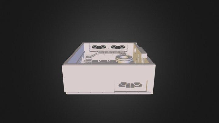 Futuristic 3D Model