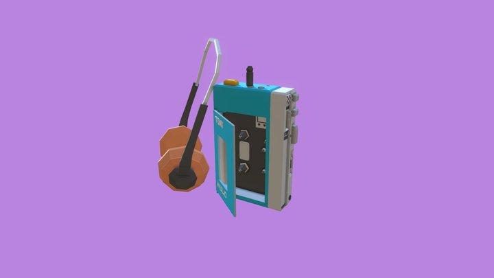 Walkman - Low Poly 3D Model