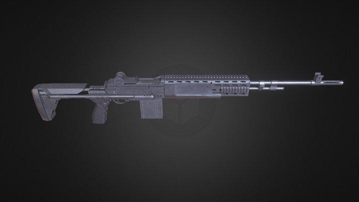 MK14 EBR 3D Model