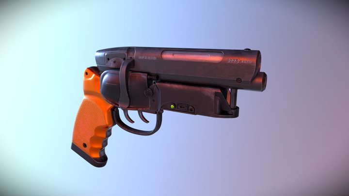 LAPD Blade Runner Blaster 3D Model