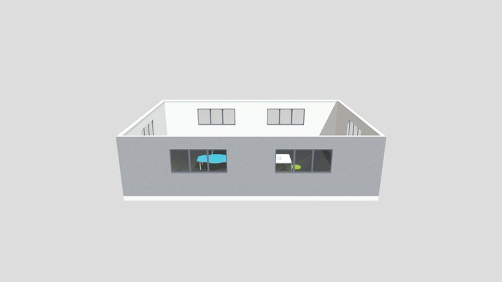 Christ The King School - Junior Classroom 3D Model