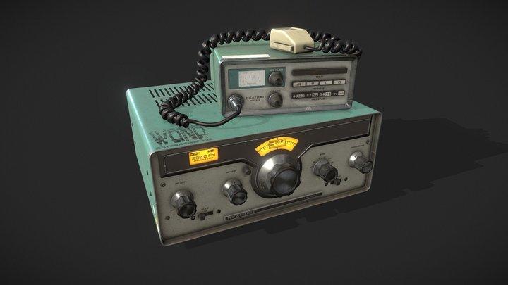 Oldschool Radio Kit 3D Model