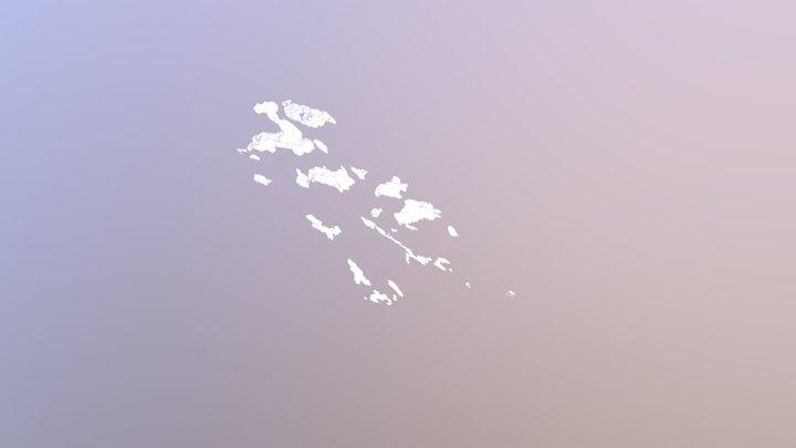 Osaka cloud 3D Model