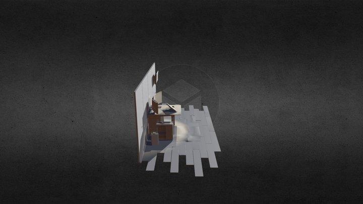 Room Dioram Details 3D Model