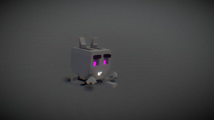 Cube Sprite4 3D Model