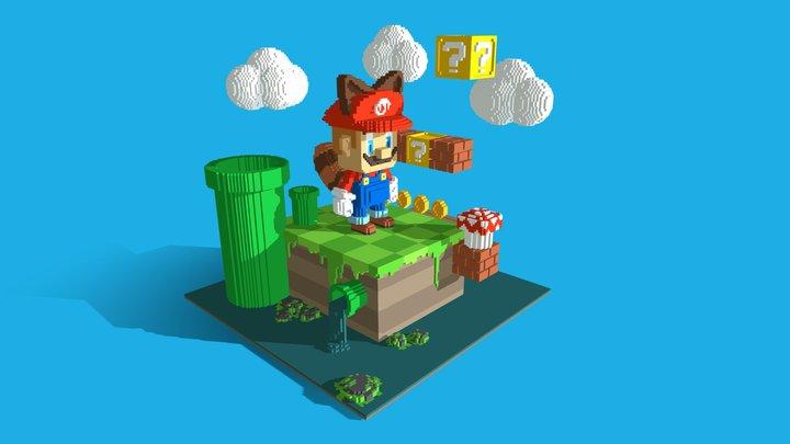 Mario Bros 3D Model