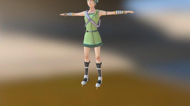 Faye 3D Model