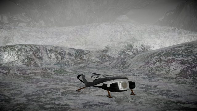 Interstellar - The Ice Planet 3D Model