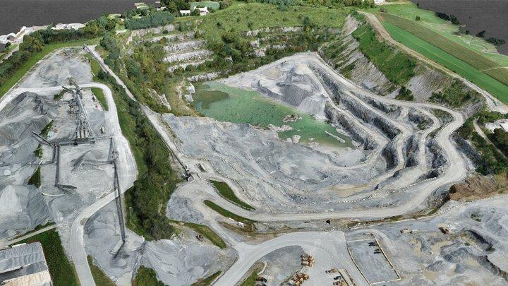 Paradise Quarry 3D Model