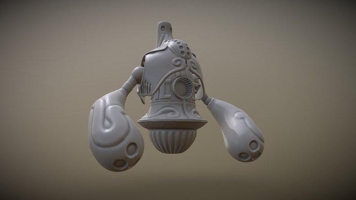 Final Fantasy 8 - Droma 3D Model