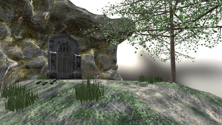 Secret Entrance 3D Model