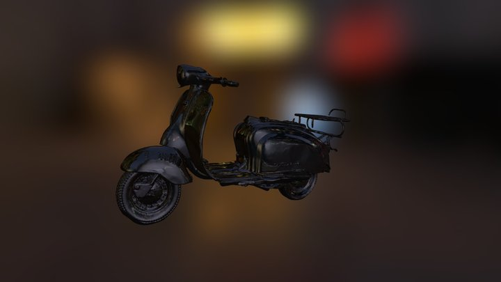 Lambretta 3D Model