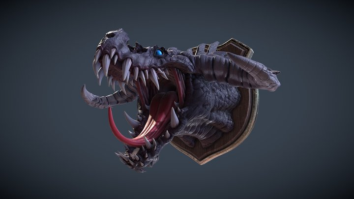 BattleChaser Creature 3D Model