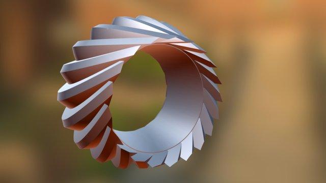 Khronos Ring 3D Model