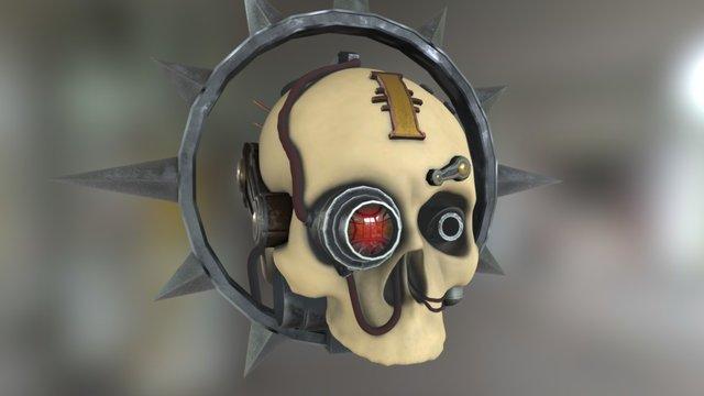 Servo-skull 3D Model