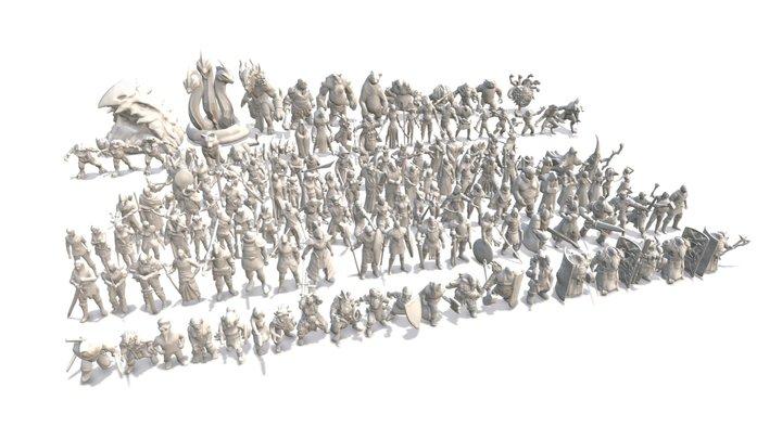 Print All 18 3D Model