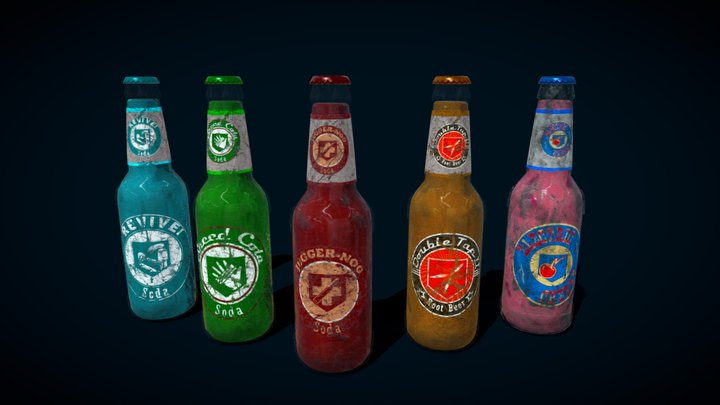 CoD Zombies Sodas 3D Model