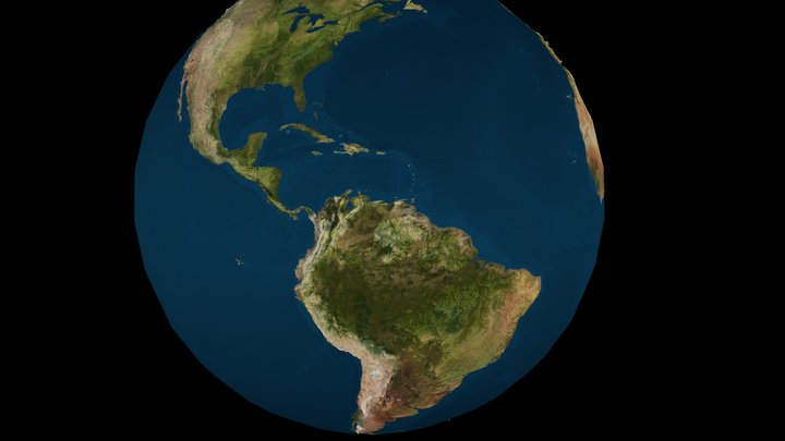 FREE HQ ( HIGH QUALITY ) EARTH MODEL 3D Model