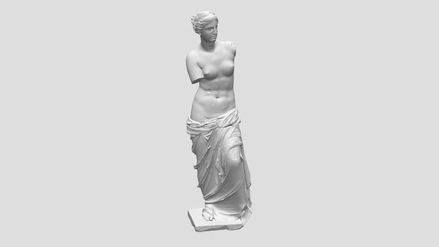 Venus de Milo (Aphrodite of Milos) 3D Model