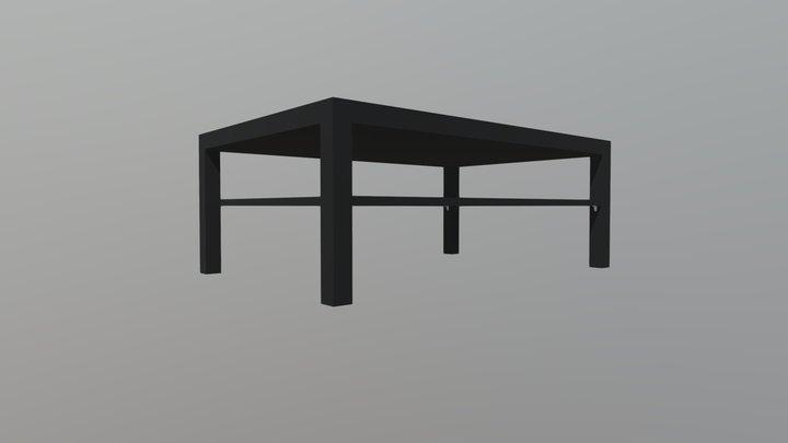IKEA LACK Coffee Table - 118x78x45cm 3D Model