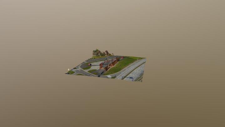 Muzeum Ognia Żory 3D Model