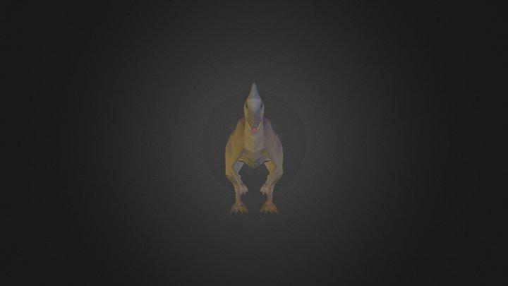 Dino Detailed 04 3D Model