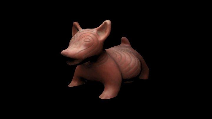 Perro Prehispanico 3D Model