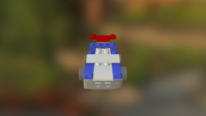 Lego Car Assembly #2 3D Model