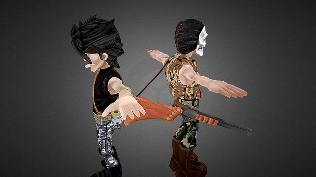 game of wars 3D Model