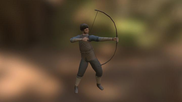 Huntsman Short Ranged Attack 3D Model
