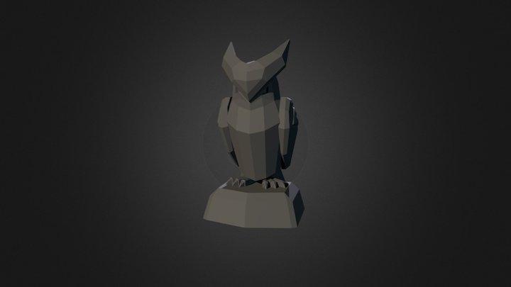 Bird Statue 3D Model