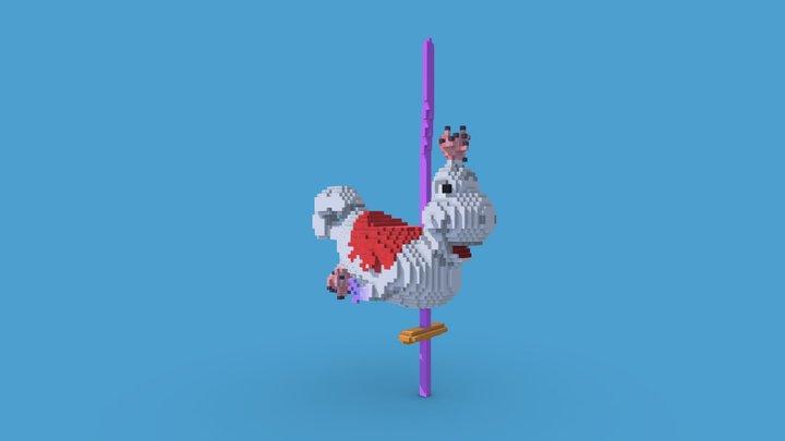 Caro-Seuss-el vehicle model 3D Model