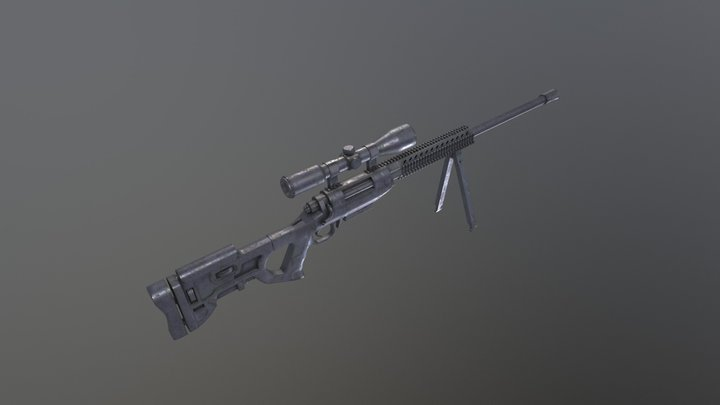 Korean Marksmen K14 3D Model