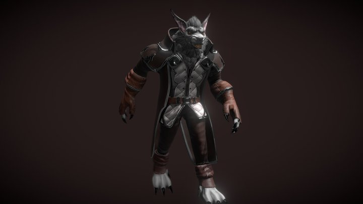 World of Warcraft- Gen Graymane With Animations 3D Model
