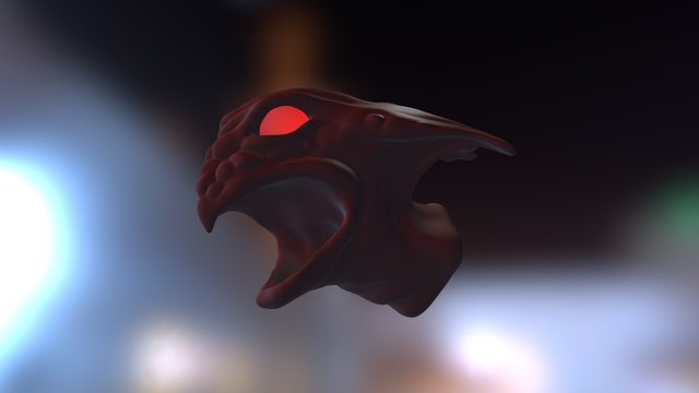 The Maw of Doom 3D Model