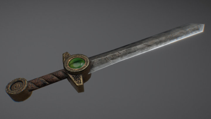 Sword eye of dragon 3D Model